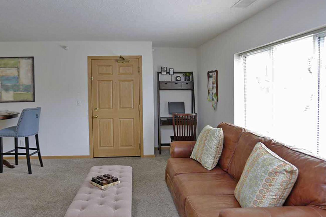 The Birch (2 bedroom): Home office nook!