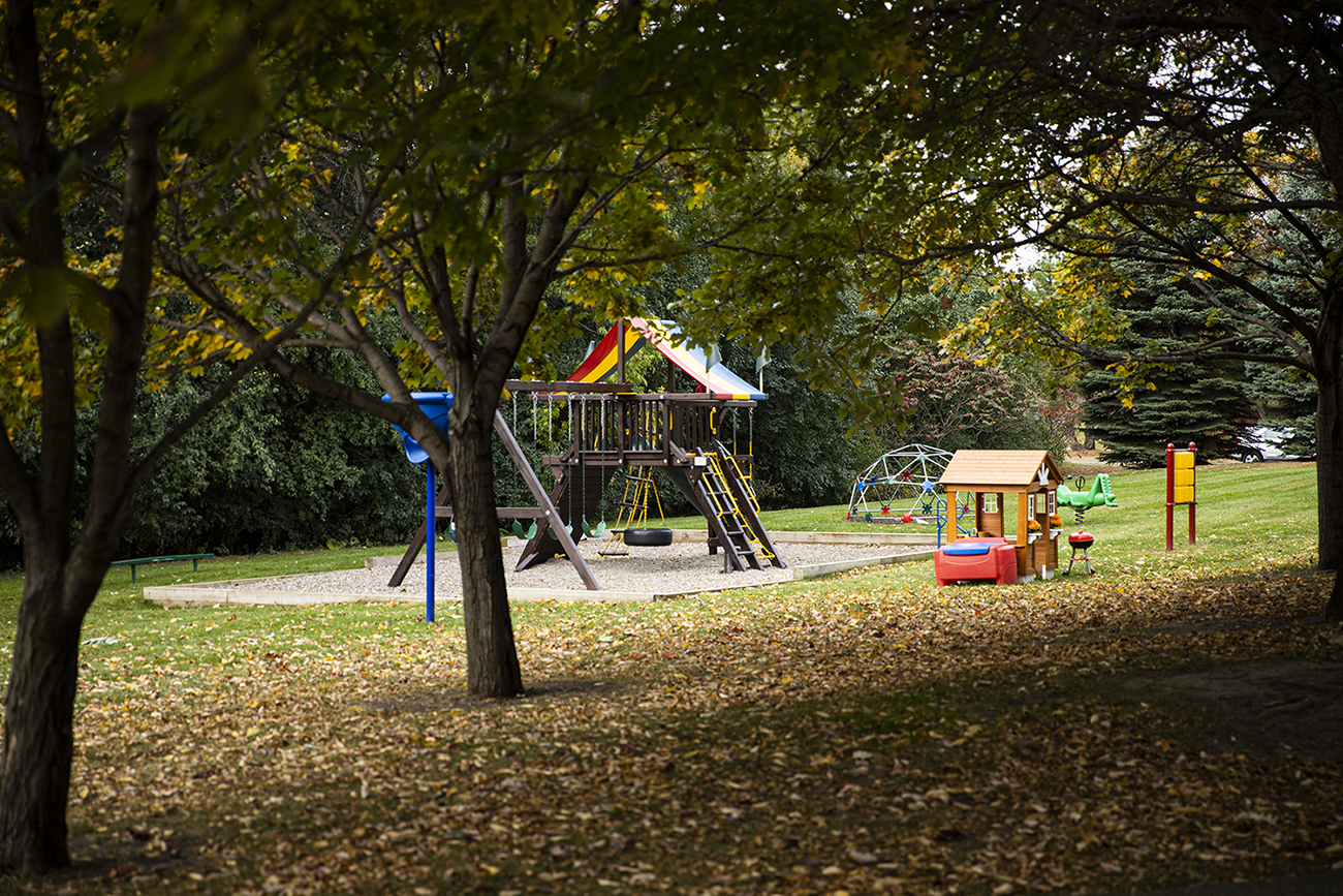 Private park area exclusively for Promenade Oaks residents