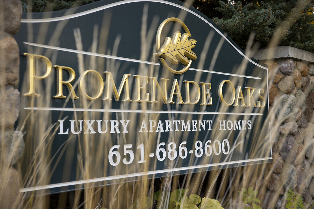 Town-home style apartments in Eagan