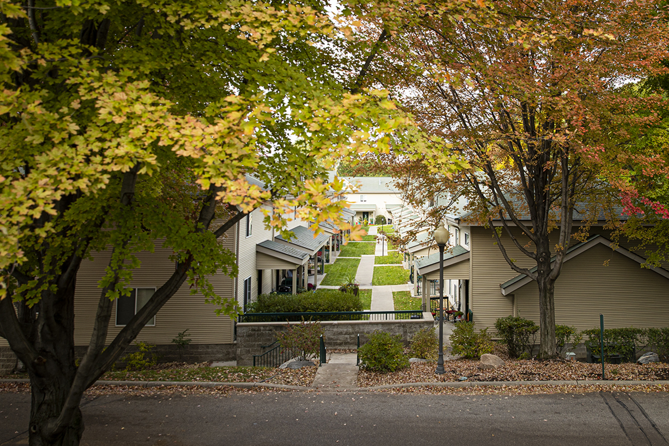 Townhome-style apartments for rent
