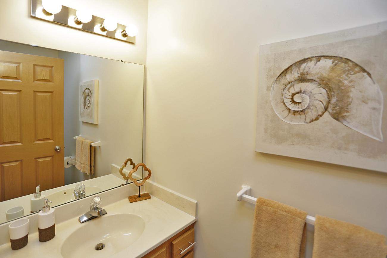 The Birch (2 Bedroom): Main floor bath