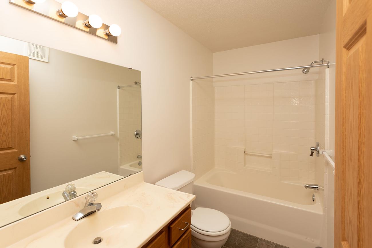 3 Bedroom: One of 2.5 Bathrooms