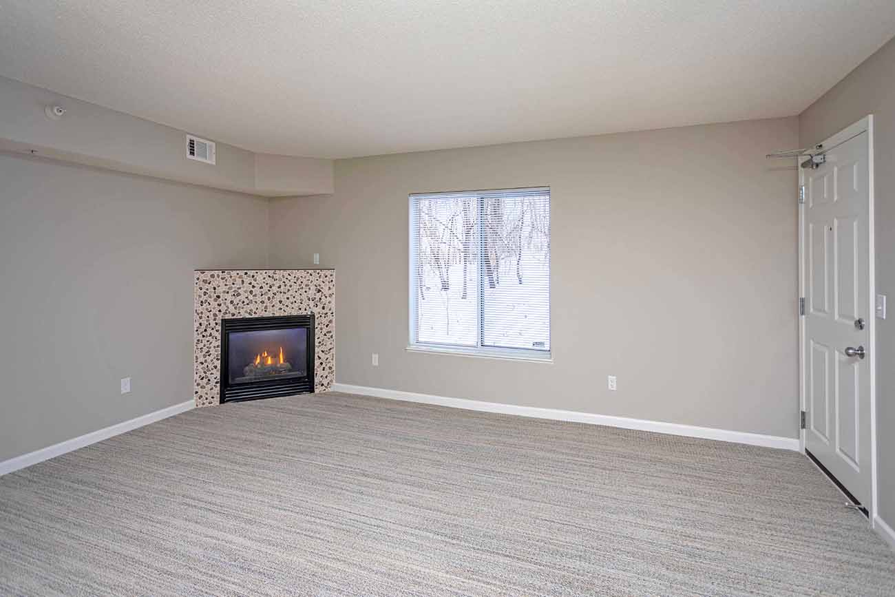 Newly remodeled living area